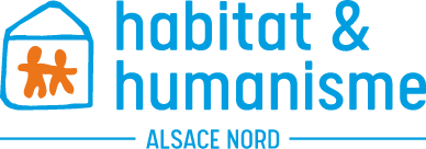 Logo habitat & humanisme Alsace nord